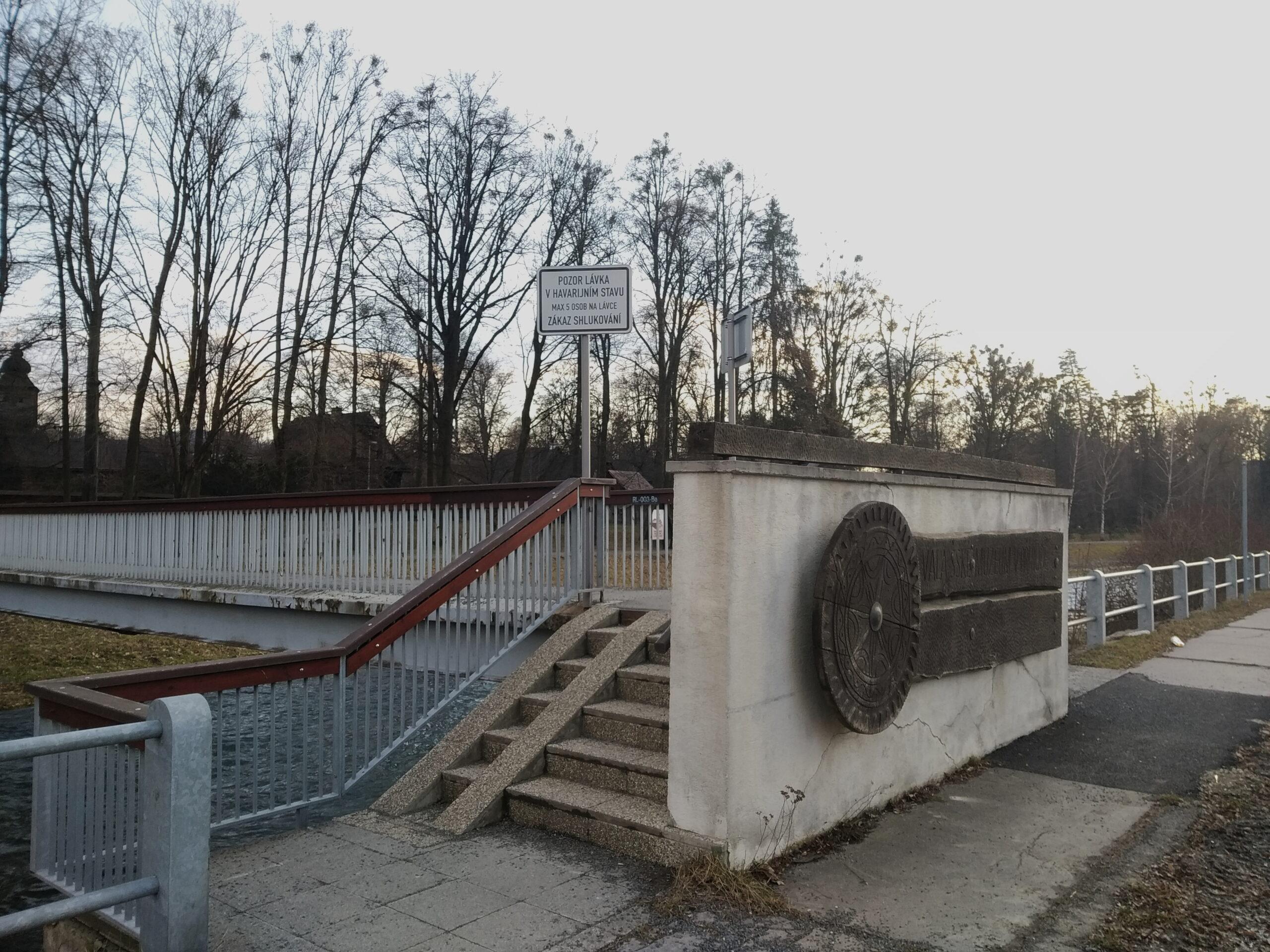 Lávka - Rožnov - iRožnovsko.cz